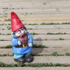 Figura Gnomo Zombie para jardín