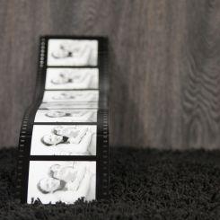 Portafotos carrete film 7 fotos