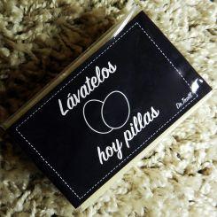 Jabón artesanal  Lávatelos, hoy pillas (Karité)