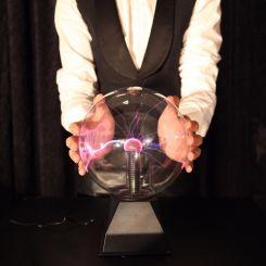 Lámpara de plasma bola láser 15cm diámetro