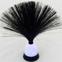 Lámpara de fibra mini fil negra