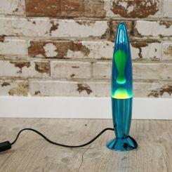Lámpara de lava de metal (varios colores)