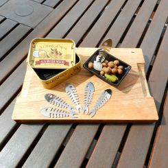 Palillos sardina para aperitivos