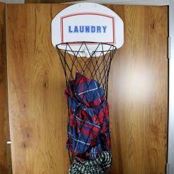 Cesta para la ropa sucia Canasta de Baloncesto