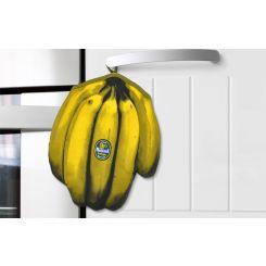 Manopla cocina en forma de plátano
