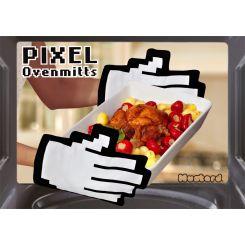 Manoplas de cocina píxel