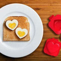 Molde Corazón para huevo duro