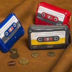 Monedero Casete Vintage