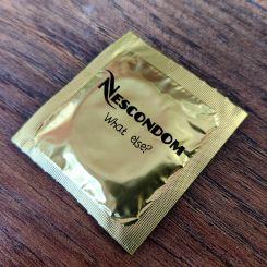 Condón, preservativo Nescondom What else?
