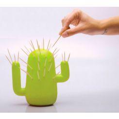 Palillero en forma de cactus
