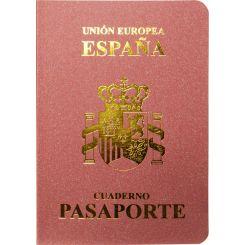 Bloc de notas Pasaporte