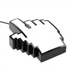 Ratón de ordenador mano Píxel