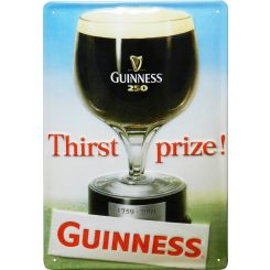 Placa decorativa cerveza Guinness