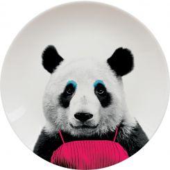 Plato Cerámica Panda