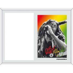 Portafoto Bob Marley cantando