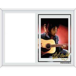 Portafoto Bob Marley modelo guitarra