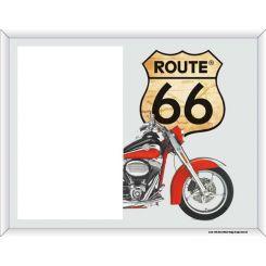 Portafoto La Ruta 66 con Harley