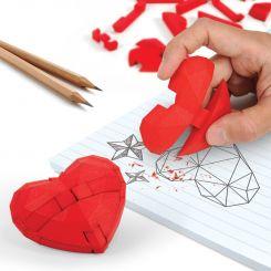 Puzzle Corazón Goma de borrar