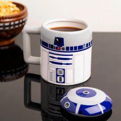 Taza con relieve R2-D2, de Star Wars