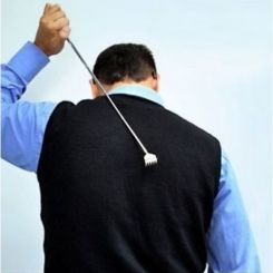 Rascador de espalda extensible