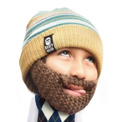 Gorro con barba para niños Roro