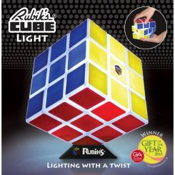 Lámpara cubo Rubik jugable