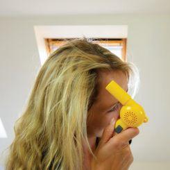 El secador de pelo más pequeño del mundo