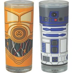 Set 2 Vasos Star Wars (R2-D2 y C-3PO)