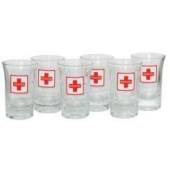 Set 6 chupitos Medicina