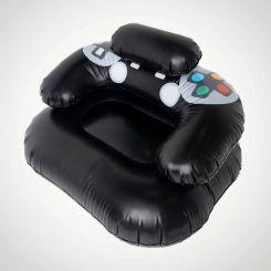 Sillón hinchable Gamer, diseño mando de videoconsola