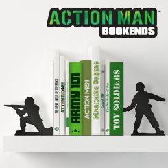Soporte de libros soldados