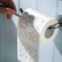 Papel higiénico WC Sudoku