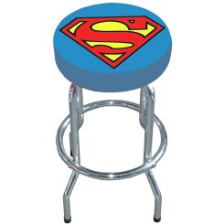 Taburete barra logo Superman