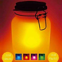 Tarro de Luz Solar cambia de color