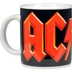 Taza AC/DC logo de cerámica