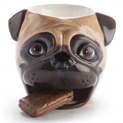 Taza galletero Pug Carlino
