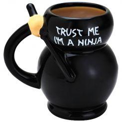 Taza Cerámica Ninja