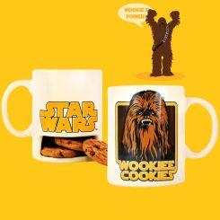 Taza Chewaka con soporte para galletas: Star Wars