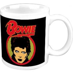 Taza de David Bowie Flash Logo