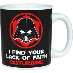 "Taza ""Lack of Faith"" Darth Vader Star Wars"
