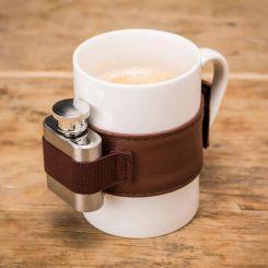 Taza cerámica con petaca mini
