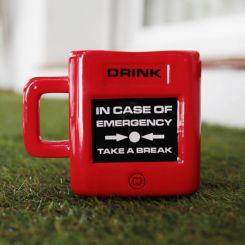 """Taza para emergencias """"Take a Break"""""""