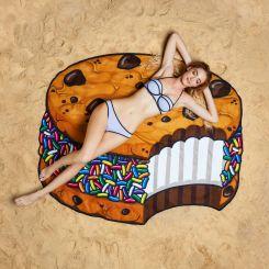 Toalla Cookie de Crema y chocolate gigante