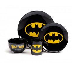 Set vajilla 4 piezas Batman