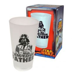 "Vaso alto Darth Vader ""I am your father"" (Yo soy tu padre)"