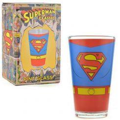 Vaso tamaño pinta de Superman