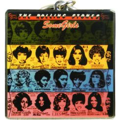 LLAVERO THE ROLLING STONES SOME GIRLS