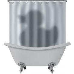 Cortina de ducha Pato Psicosis