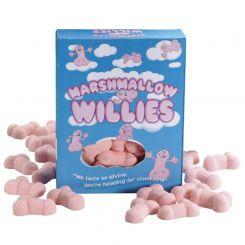 Malvaviscos con forma de pene: Marshmallow Willies
