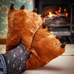 Zapatillas pies de Oso con garras